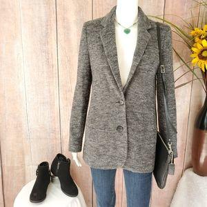 Vince fully lined longer length wool blazer